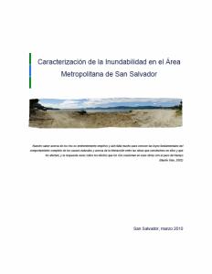 Caracterizacion inundabilidad 2010