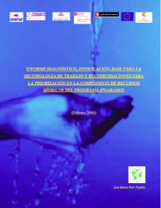 Informe recursos hidricos 2006