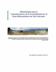 Metodologia Inundabilidad 2011