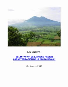Micro-Región-Documento 1 2003