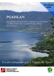 informe PGAISLAN-2006 Laguna de Apoyo